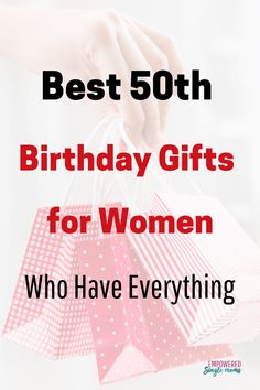 These 50th Birthday Gifts For Women Are Perfect Friends Moms And Partners 50thbirthday Giftsforfriends