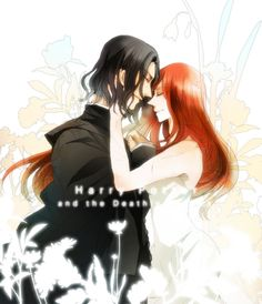 Probably my most favorite depiction of them so far. I love everything about it - how they're drawn, the emotion behind this picture as Severus is still mourning her passing and Lily has forgiven him so long ago and wants him to know. :'( the feels! I just love them together so much!
