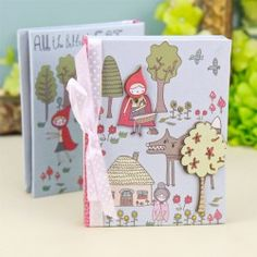 Buy Once Upon a Time Red Riding Hood Notebook from lisaangel.co.uk :: Lisa Angel Jewellery and Gifts