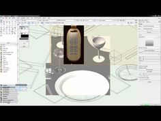 Vectorworks 2B - Lesson 5A (Rendering and Textures) - YouTube