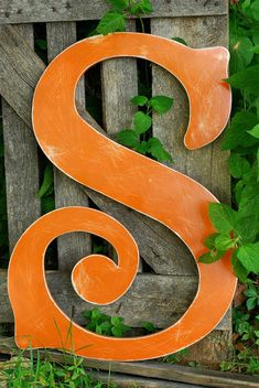 Metal Letter S, Vintage Inspired Letters, Typography, Custom Signage, Made to Order