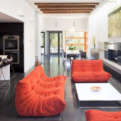 Contemporary Togo Design Pictures Remodel Decor And Ideas Moderne Ligne Roset