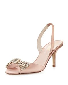miva satin halter pump by kate spade new york at Neiman Marcus.