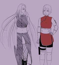 The Last: Sakura and Ino. / SakuIno