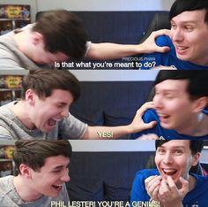 ~ I can hear his voice screaming this also LOOK HOW HAPPY PHIL IS HES SO CUTE