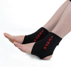 Tourmaline self-heating ankle support far infrared magnetic therapy ankle support tourmaline nano ankle belt 2pcs=1pairs