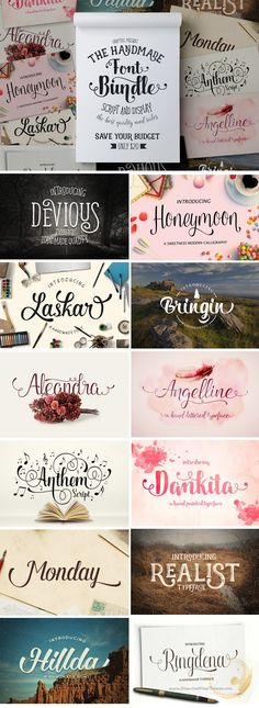 """We are back in the """"FONT BUNDLE (GRAPTAIL) """" with a new passion plus some font support in order to satisfy you. Script Lettering, Lettering Design, Hello Font, Computer Font, Watercolor Lettering, Word Design, Beautiful Fonts, Photoshop, Tattoo Fonts"""