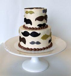 - Movember moustache cake