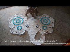 Tapete carinha de elefante passo final - YouTube