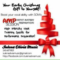 SOM Product 'AMP' Artist Mastery Preparation Session. Intense Vocal Training.