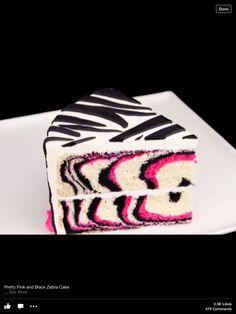 Decadent Zebra Cake