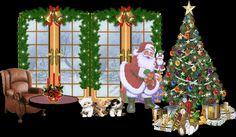 Animated gifs merry christmas feliz navidad nativity wise men santa christmas tree christmas lights carolers