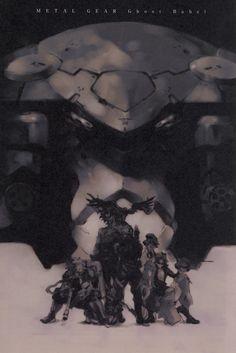 Gear Art, Video Game Art, Video Games, Metal Gear Solid, 8 Bit, Gears, Character Design, Black Death, Concept
