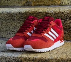 adidas Originals ZX 700 – Light Scarlet / Blaze Pink – Running White