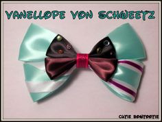Items similar to Vanellope Von Schweetz Hair Bow Wreck It Ralph Disney Inspired on Etsy Ribbon Hair Bows, Girl Hair Bows, Disney Diy, Disney Crafts, Wreck It Ralph, Ribbon Crafts, Diy Ribbon, Minnie Bow, Mickey Ears