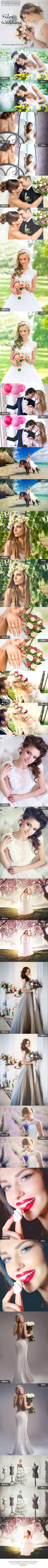 50 Premium Film-Wedding Lightroom Presets. Download here: http://graphicriver.net/item/50-premium-filmwedding-lightroom-presets/16696406?ref=ksioks