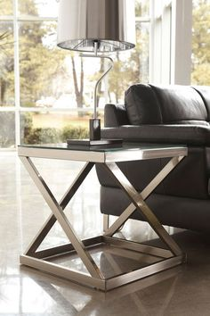 online shopping for Ashley Furniture Nickel Color Square End Table - Signature Design from top store. See new offer for Ashley Furniture Nickel Color Square End Table - Signature Design Square Glass Coffee Table, Square Tables, Glass Table, End Tables, City Furniture, Living Room Furniture, Furniture Outlet, Rustic Furniture, Modern Furniture