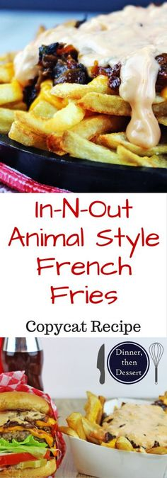 In-N-Out Animal Style French Fries: In-N-Out Animal Style French Fries