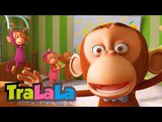 🐵 Five Little Monkeys 🍌LooLoo Kids Nursery Rhymes for Kids