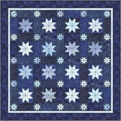 starry starry night quilt pattern | Kits to Purchase Fabric ... : starry night quilt pattern - Adamdwight.com