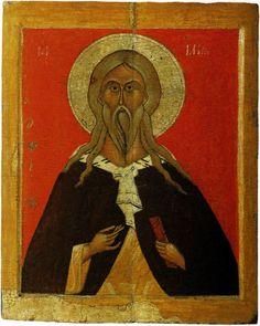 Илья Пророк. Середина XV века. Новгород.