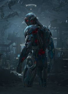 The Avengers: Age of Ultron - Poster 13, Ultron by Ratohnhaketon645 on DeviantArt