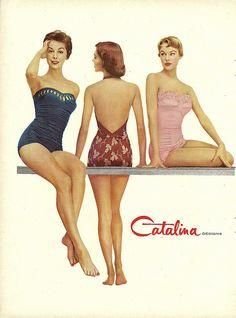 Catalina swimwear 1954