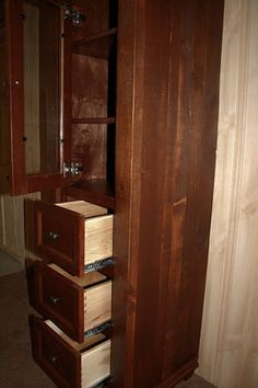 Antique Bathroom Linen Closet2