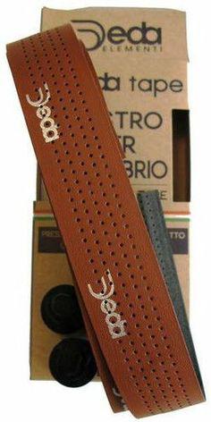 41ff0a1687f Deda Elementi Mistral Road Bike Handlebar Drop BAR Tape Synthetic Leather  Brown