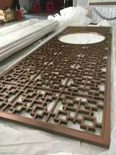 Plating stainless steel screen