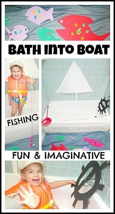 bath into boat