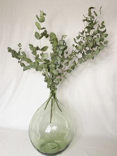 Bouquet D'eucalyptus, Assemblage, Decoration, Glass Vase, Rustic, Decor, Decorations, Decorating, Dekoration