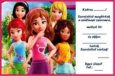 Lego friends Lego Friends, Disney Characters, Fictional Characters, Logo, Disney Princess, Movie Posters, Decor, Logos, Decoration