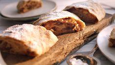 Saftiger Apfelstrudel - Famous Last Words Coconut Desserts, Chocolate Desserts, Delicious Desserts, Dessert Recipes, Cake Recipes, Yummy Food, Sweet Potato Recipes Healthy, Sweet Recipes, Cakes That Look Like Food