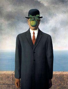 Художник - Рене Магритт, картина «Сын человеческий»: Сюрреализм, Портрет