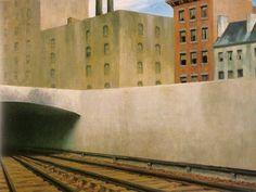 Edward Hopper - Approaching City (1946)