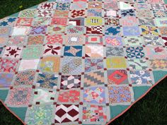 Farmers Wife Sampler Quilt, done!   by run amok