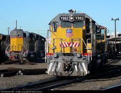 RailPictures.Net Photo: UPY 862 Union Pacific EMD SD38-2 at Roseville, California by Andy Inserra