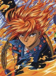 Tasuki- my favorite character from Fushigi Yugi :)