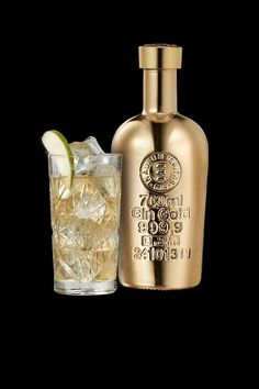 Gin Gold 999,9 - Unexpected pure Gin!