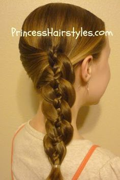 4 strand braid with braid accent