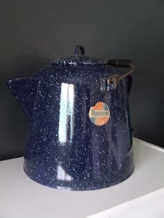 Bluestone campfire kettle