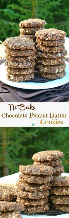 No Bake Chocolate Pe