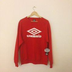 """Box 2 Box Football on Instagram: """"If you're going to buy one thing this weekend... just make it this. @umbro Pro Training Classic Red. #umbro #ProTrainingClassic #design #fashion #footballdesign #soccerdesign #sweater #footballculture #soccerculture #box2boxfootball"""""""