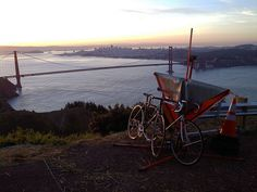 Best 5 Bike Rides In San Francisco: Hawk Hill Loop bike ride from SF across the Golden Gate bridge into Marin.