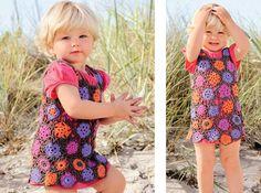 Описание вязания крючком летнего сарафана для девочки из журнала «Маленькая Diana. Специальный выпуск» 5/2015