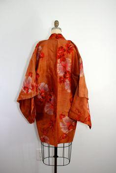 Vintage Japanese kimono jacket.