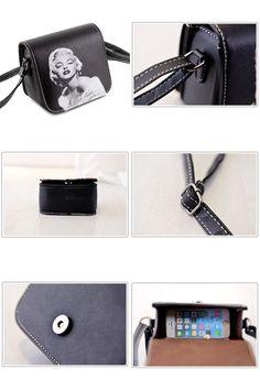[Visit to Buy] summer new spraying handbags printing beauty head shoulder bags aslant recreation bag women messenger bags wholesale QT227 #Advertisement