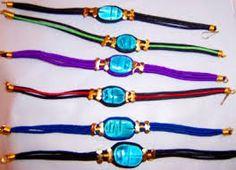 Resultado de imagen para pulseras tipo egipcias