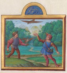 Master of Claude de France, Month of April, Album of Calendar Miniatures, Tours, c. 1517-20